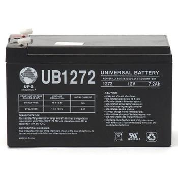 12 Volt 7.2 Ah SLA Battery - UB1272