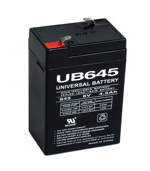 Compatible Replacement for GS Portalac PE6V4.5F1 Battery