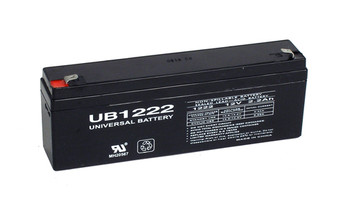 Compatible Replacement for GS Portalac PWL12V2 Battery