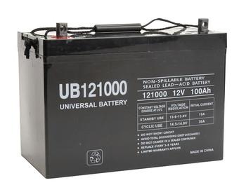 UB121000 - 12 Volt 100 Ah AGM Battery