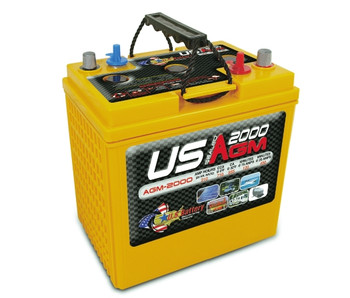 US AGM2000 6 Volt Deep Cycle Battery