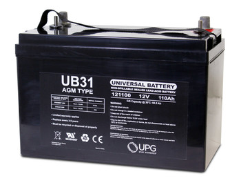 UB31 AGM Battery - Deep Cycle Group 31