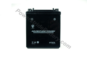 ATK Motorcycle Battery (all models 1996-2001) Adventure Power UTX7L