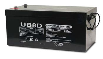 Oshkosh Bridgemaster Optional Truck Battery (2006-2008)