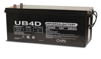 Oshkosh Bridgemaster Commercial Truck Battery (2006-2008)