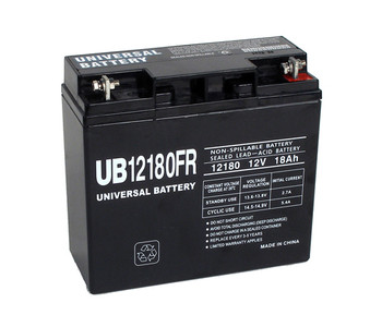12 Volt 18 Ah Flame Retardant UPS Battery - UB12180FR