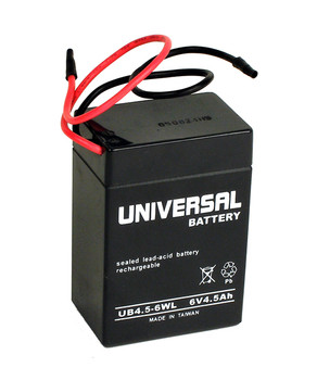 Replacement for B&B BP4.5-6 Battery