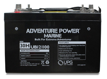 Long Manufacturing 510S, 510SM, 510SV Farm Equipment Battery (1985-1986)