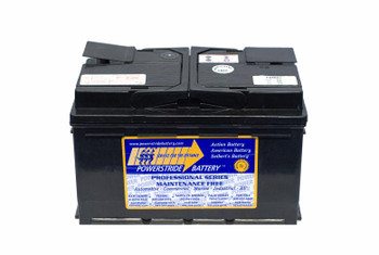 Porsche Carrera Battery (2005-2004, V10 5.7L)