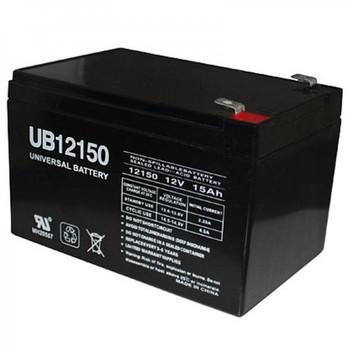 12 Volt 15 Ah SLA Battery - UB12150 Hole Terminal