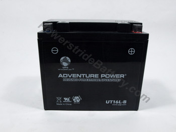 Replacement for Interstate YB16L-B Battery