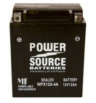 Yuasa YB12A-A Battery Compatible Replacement