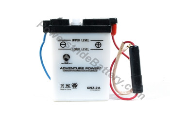 GS Yuasa 6N2-2A Battery Replacement