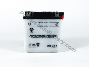 Adventure Power 6N6-3B-1 Battery
