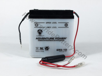 GES 6N6-1D Battery Replacement