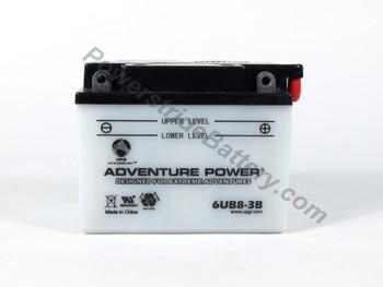 Adventure Power 6UB8-3B Battery - 6YB8L-B (41530+D1724)