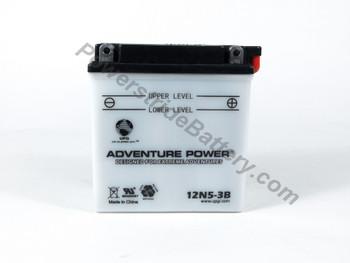 Adventure Power 12N5-3B Motorcycle Battery