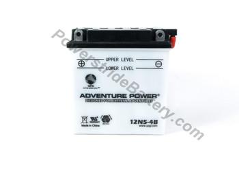 Adventure Power 12N5-4B Motorcycle Battery