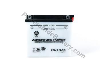 JIS 12N5.5-3B Battery Replacement