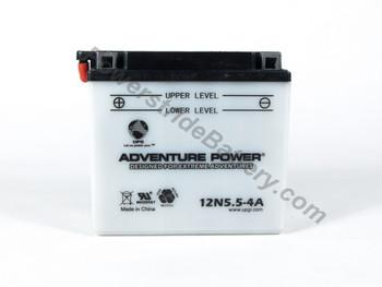 Benelli 125 Custom Guzzi Battery