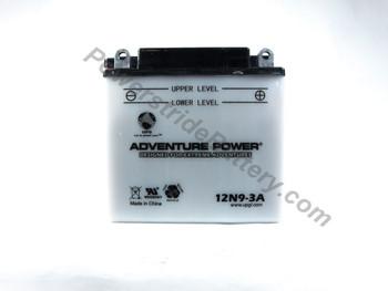 JIS 12N9-3A Battery Replacement