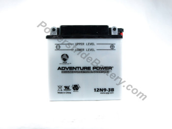 Adventure Power 12N9-3B Battery