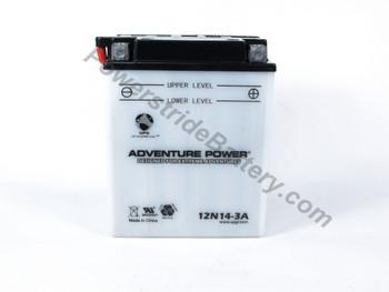 Adventure Power 12N14-3A Battery