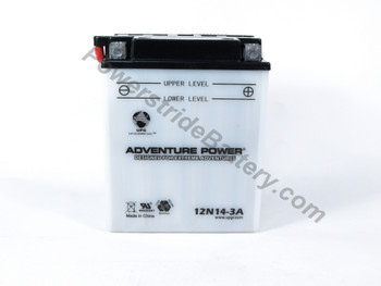 Exide 12N14-3A Battery Replacement