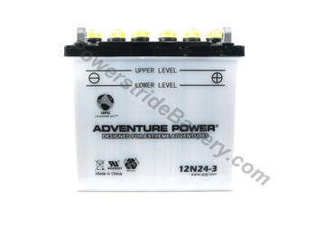 Champion 12N24-3A Battery Replacement (41547+D1724)