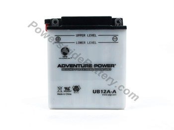 Replacement for Interstate YB12A-A Battery