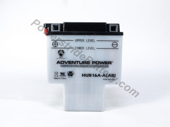 JIS 16A-AB (16A-A) Battery Replacement