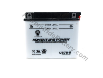 Replacement for Interstate YB7B-B Battery
