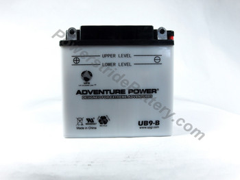 Replacement for Interstate YB9-B Battery