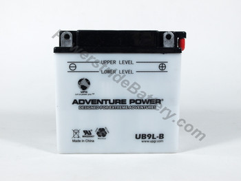 Adventure Power UB9L-B Battery (YB9L-B)