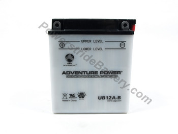 Replacement for Interstate YB12A-B Battery