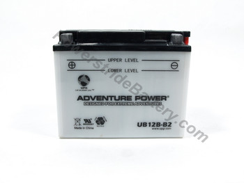 Exide 12B-B2 Battery Replacement