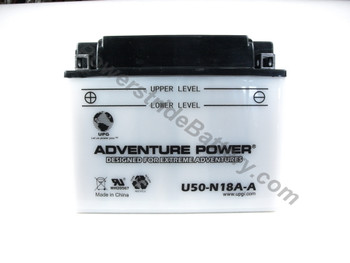 Replacement for Interstate Y50-N18A-A Battery