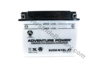JIS S50-N18L-AT (W/SENSOR) Battery Replacement