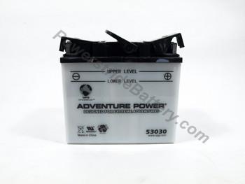 BMW R90/6, R9OS Battery (1969-1976)