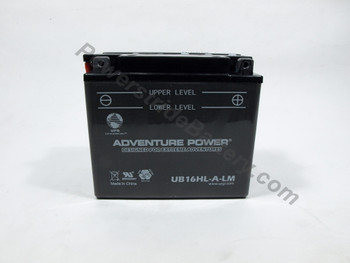 Replacement for Interstate YB16HL-A-LM Battery