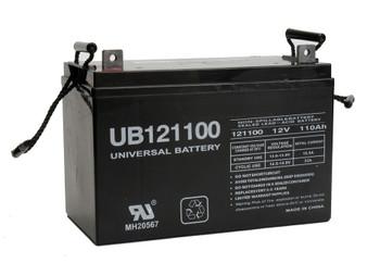 UB121100 - 12 Volt 110 AmpHr AGM Battery