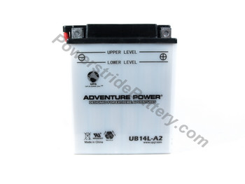 MUZ Silver Star, Tourer 500cc Motorcycle Battery