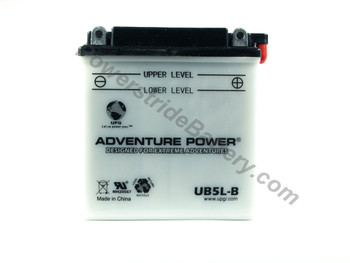 MUZ Roadster 125cc Motorcycle Battery