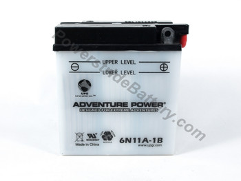 MUZ TX 125 125cc Motorcycle Battery