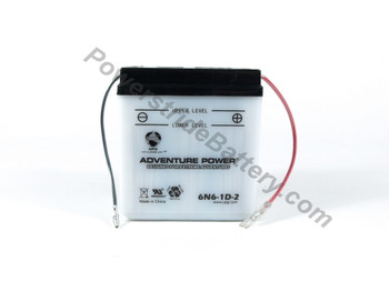 6N6-1D-2 Motorcycle Battery