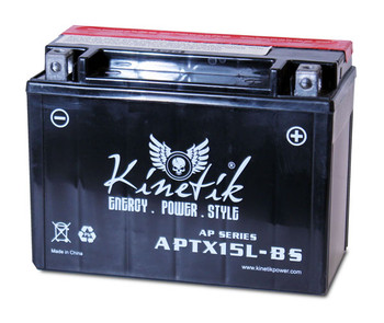 Adventure Power UTX15L-BS Motorcycle Battery