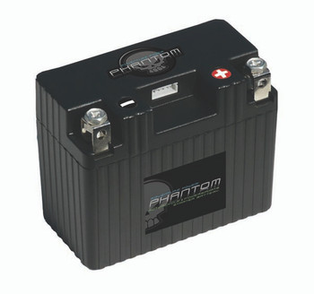 Phantom APP09L2-BS12 Lithium-Iron Phosphate (LiFePO4) Powersports Battery (48052)