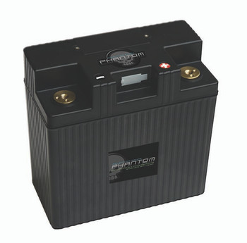 Phantom APP24L3-BS12 Lithium-Iron Phosphate (LiFePO4) Powersports Battery