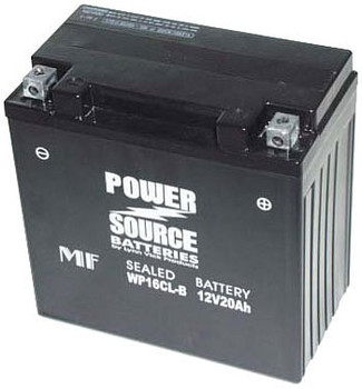 WP16CL-BS AGM Powersports Battery