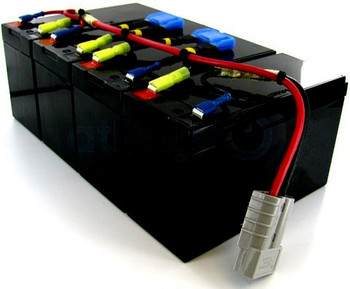 HIGH CAPACITY Replacement Battery Pack for APC RBC25 - RBC25HC